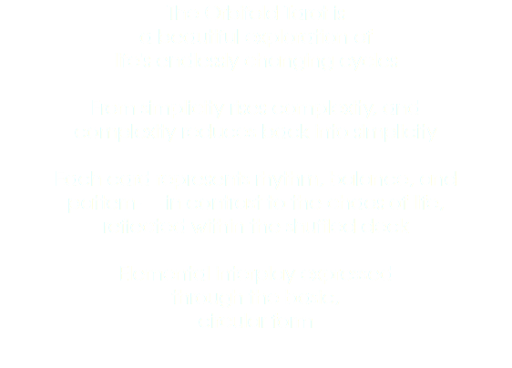 The Orbifold Tarot is