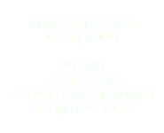 Small Orbifold Tarot
